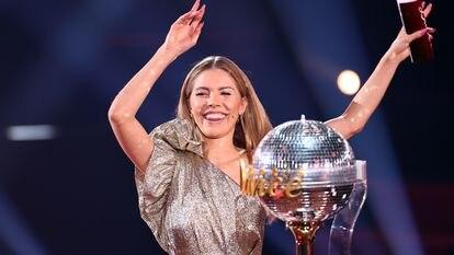 La presentadora Victoria Swarovski, en el programa de RTL 'Let's Dance', en abril de 2021.
