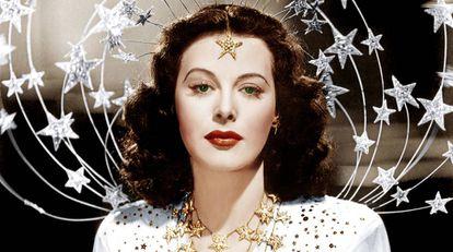 La actriz Hedy Lamarr.