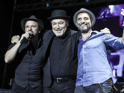 Coque Malla, Rubén Blades y Jorge Drexler este lunes en las Noches del Botánico.