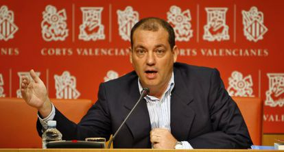 José Marí Olano, diputado del PP en las Cortes Valencianas.