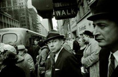 Imagen de Manhattan en 1960.