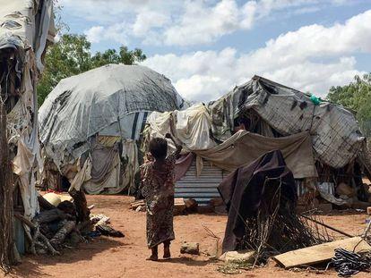 Vista del campo de refugiados de Dadaab, en Kenia, el 17 de noviembre de 2016.