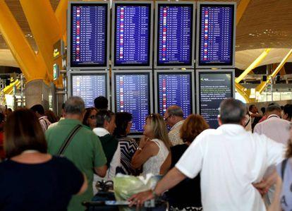 El aeropuerto Adolfo Suarez Madrid-Barajas