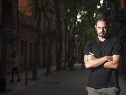 Markel Zubizarreta, en el barcelonés barrio de Gràcia.