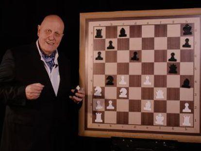 El gran maestro francés, con las piezas negras, ejecuta un ataque a la bayoneta con virtuosismo