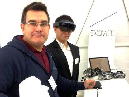 Juan Monzón, consejero delegado de Exovite, empresa española de innovación en la salud, en Bruselas.