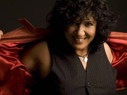 La cantautora Rosana en 2010.