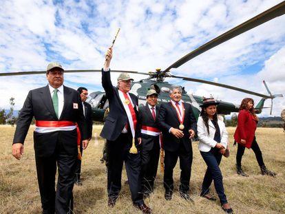 Kuczynski, el pasado viernes en Ayacucho.