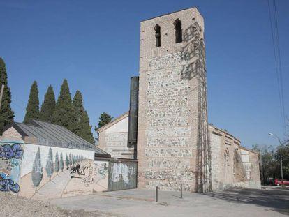 Ermita Santa María de la Antigua, en Carabanchel.
