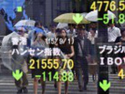 El mal dato de la producción en China arrastra a las Bolsas de todo el planeta. Europa se lleva la peor parte