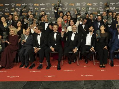 Ganadores de los Premios Goya 2019. En vídeo, resumen de la gala.