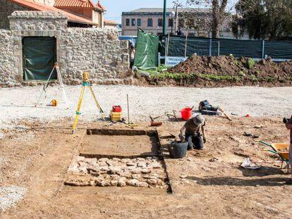 Excavaciones arqueológicas en Suances (Cantabria)