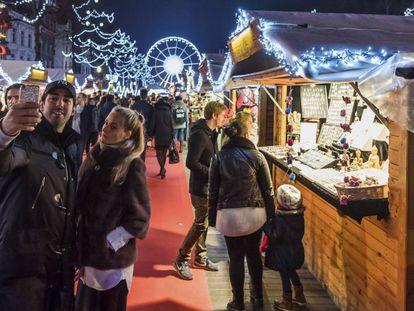 Mercado navideño 2016 de Bruselas.