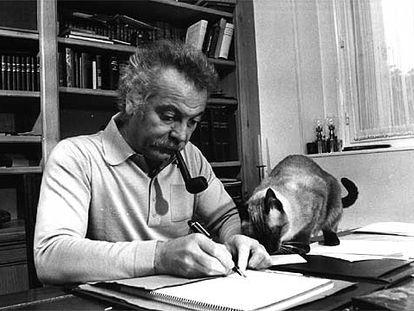 Georges Brassens, en una imagen de archivo.