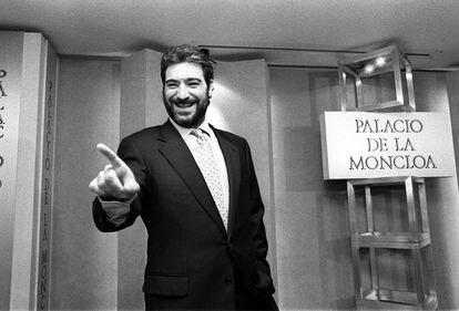 Miguel Ángel Rodríguez, en marzo de 1997, cuando el Gobierno anunció que desclasificaría los papeles del Cesid sobre la guerra sucia del GAL.
