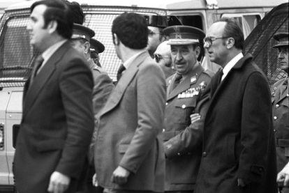 Armada abandona el Congreso, el 23 de febrero de 1981.