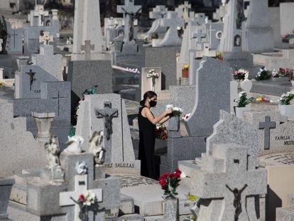Cementerio de la Almudena, gestionado por la empresa municipal de Madrid.