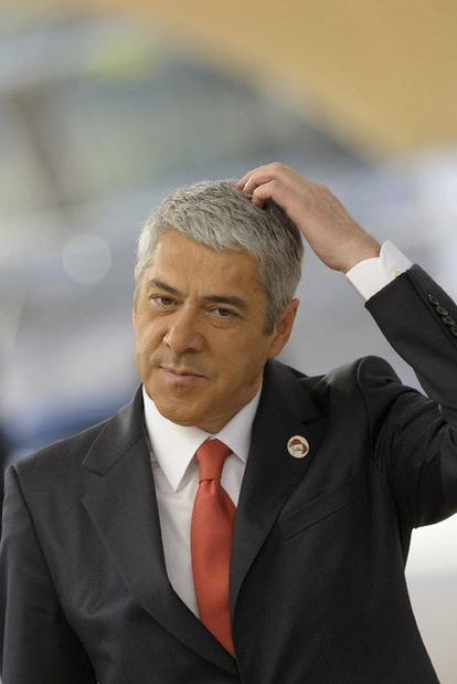 El primer ministro portugués, José Sócrates.