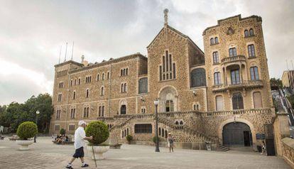 Instalaciones del centro de Sant Josep de la Montanya.
