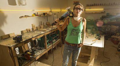 Sandy Lyen es emprendedora en Beirut, Líbano.