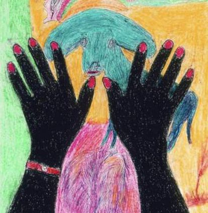 Obra de la artista Nellie Mae Rowe, recogida por Jennifer Higgie.