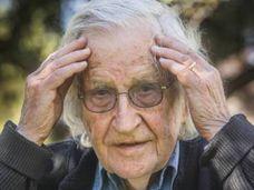 El lingüista y politólogo estadounidense Noam Chomsky.