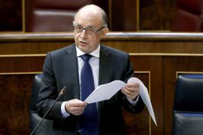 El ministro de Hacienda, Cristóbal Montoro. EFE/Archivo
