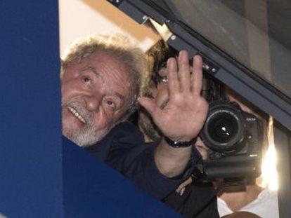 EL PAÍS presencia las últimas y decisivas horas en libertad del expresidente brasileño dentro de la sede sindical que vio nacer su carrera política