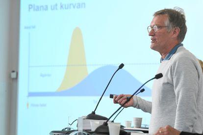 El epidemiólogo sueco Anders Tegnell, durante una rueda de prensa el 9 de junio.