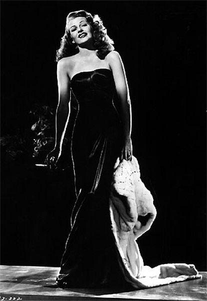 Rita Hayworth, en <i>Gilda. </i>