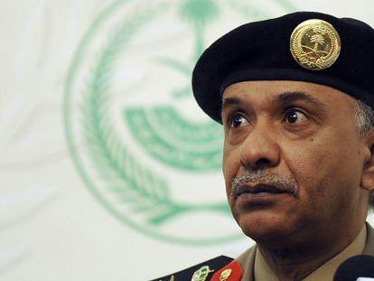 El general Al Turki, portavoz de Interior saudí.