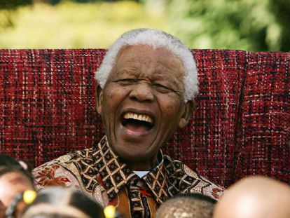 Nelson Mandela, en su cumpleaños 89.
