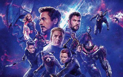 Cartel promocional de 'Endgame' (2019), la última entrega de 'Los Vengadores'