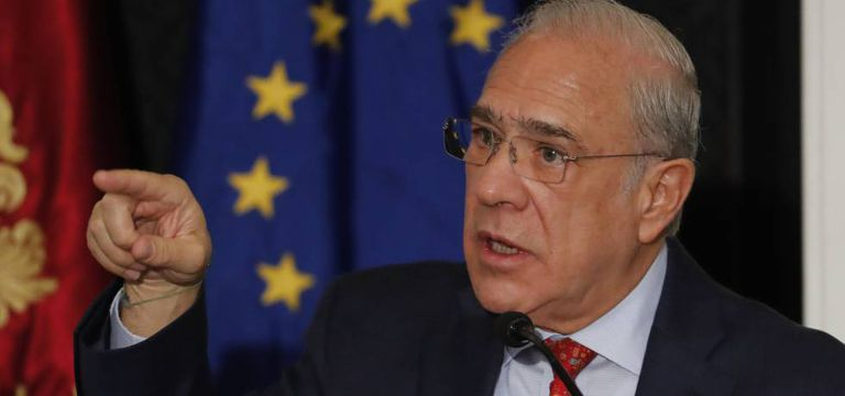 El secretario general de la Organización para la Cooperación y el Desarrollo Económicos (OCDE), Ángel Gurría.
