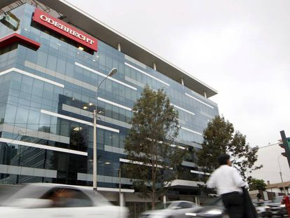 Sede de la constructora Odebrecht en Lima, Perú.