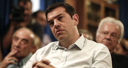 El primer ministro griego, Alexis Tsipras, el pasado 5 de agosto.