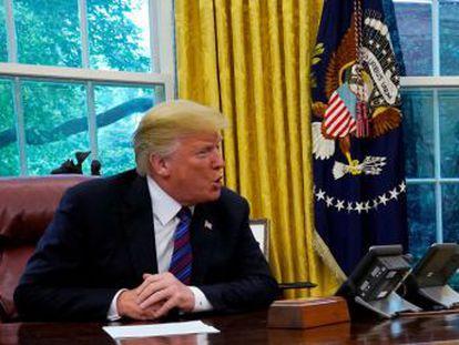 Trump anuncia el fin del tratado trilateral tras casi 25 años de vigencia y aumenta la presión sobre Canadá  o acepta lo pactado o quedará fuera del nuevo marco