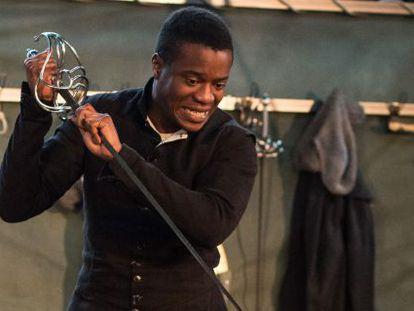 El nigeriano Ladi Emeruwa en el papel de Hamlet.