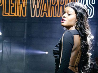 La rapera Azealia Bank el pasado febrero.
