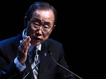 Ban Ki-moon, en Estambul hace una semana.
