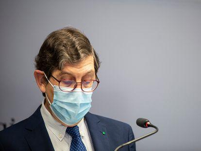El exconsejero de Salud de la Región de Murcia, Manuel Villegas.