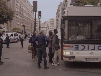Fotograma de la película 'Paris Stalingrad'.