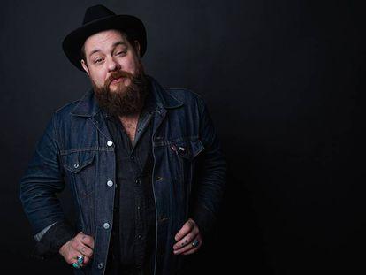 El cantante estadounidense Nathaniel Rateliff, en 2016.