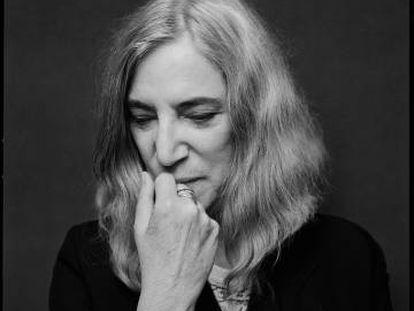 Patti Smith, en Nueva York. La imagen pertenece al libro de retratos 'Two'.