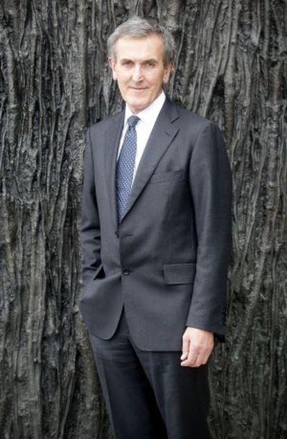Neil MacGregor, en el Museo del Prado de Madrid.