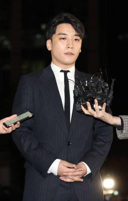 El cantante Seungri.