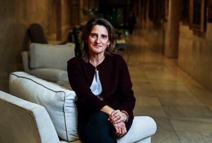 Teresa Ribera, vicepresidenta cuarta y ministra para la Transición Ecológica.