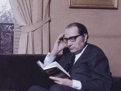 François Mitterrand, en París en 1972.