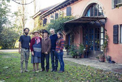 Un grupo de 'cohousing' en Italia.