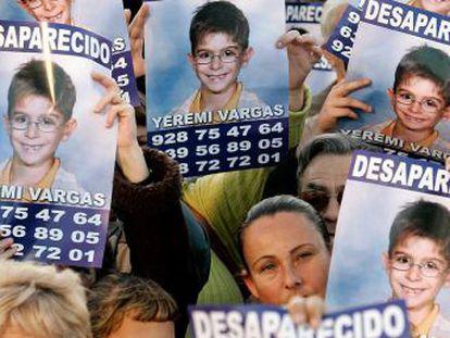 """La familia del menor desaparecido en Gran Canaria en 2007 tiene la esperanza de conocer el paradero del niño """"para poder seguir viviendo"""""""